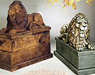 Royal Reclining Lion #2544L, 2544R