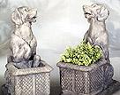 Labrador Planters #2718L, #2718R