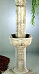 Large Four Seasons Column Fountain #5452F