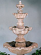 Three Tier Renaissance Fountain #5705F7
