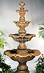 Four Tier Renaissance Fountain #5705F9
