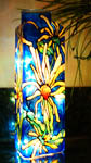 Yellow Daisy Triangle Bottle